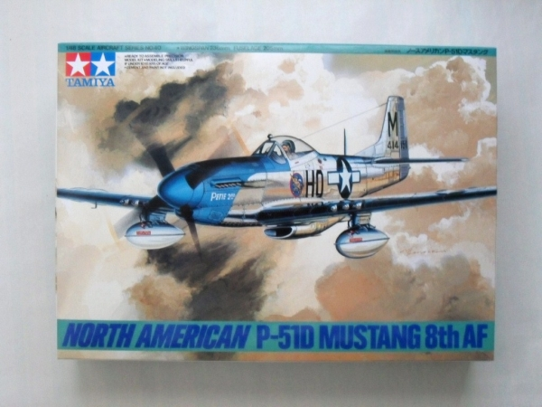 61040 NORTH AMERICAN P-51D MUSTANG 8th AF