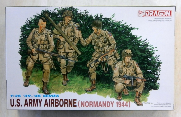 6010 US ARMY AIRBORNE NORMANDY 1944