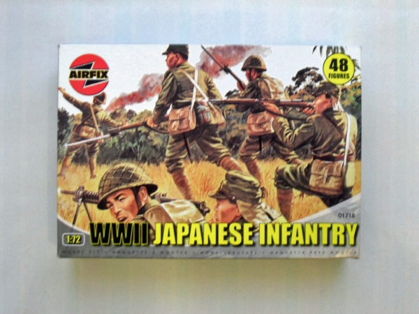 01718 WWII JAPANESE INFANTRY