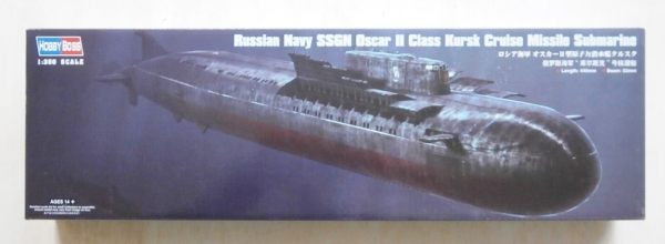 83521 RUSSIAN NAVY SSGN OSCAR II CLASS KURSK CRUISE MISSILE SUBMARINE