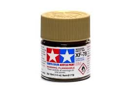 81778 XF-78 WOODEN DECK TAN ACRYLIC PAINT  UK SALE ONLY