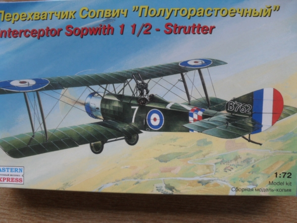 72157 SOPWITH 1 AND HALF STRUTTER INTERCEPTOR