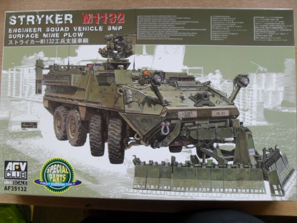 35132 M1132 STRYKER ENGINEER SQUAD VEHICLE