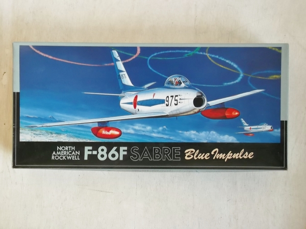 F-21 NORTH AMERICAN ROCKWELL F-86F SABRE BLUE IMPULSE