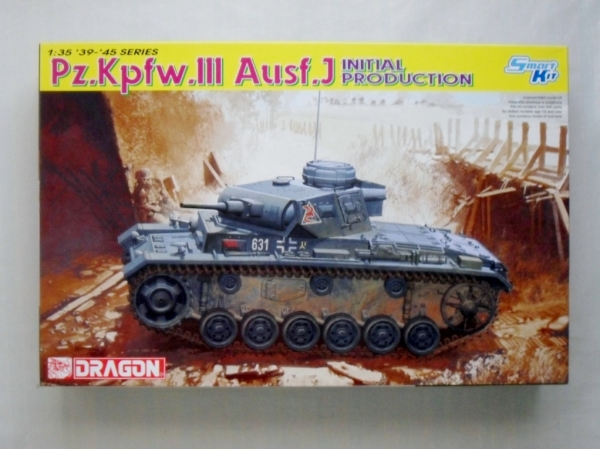 6463 Pz.Kpfw III Ausf.J INITIAL PRODUCTION