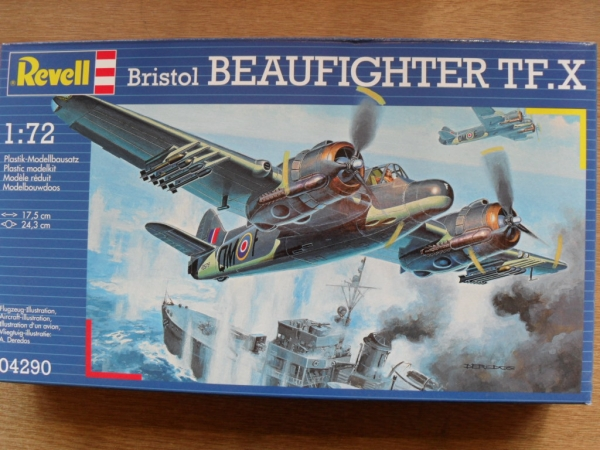 04290 BRISTOL BEAUFIGHTER TF.X