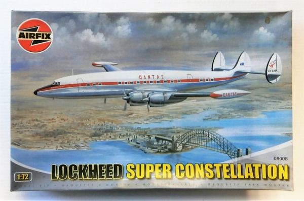 08008 LOCKHEED SUPER CONSTELLATION QANTAS