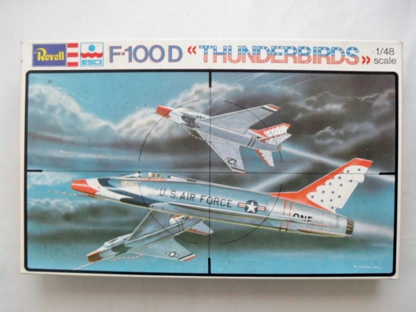 4017 F-100D THUNDERBIRDS