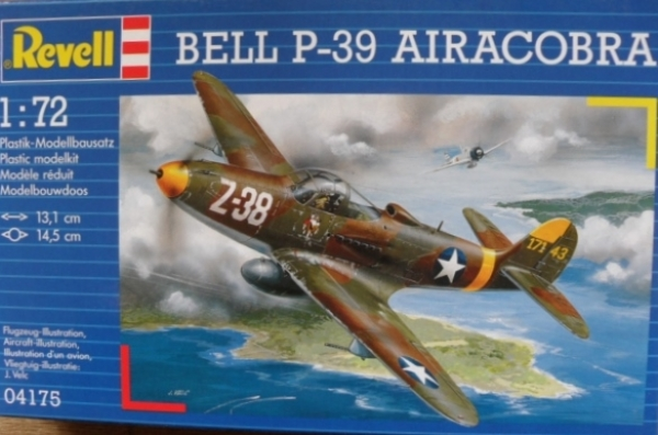 04175 BELL P-39 AIRACOBRA