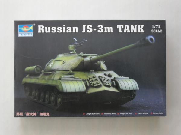 Neu Trumpeter 07228-1:72 Russian JS-3m Tank