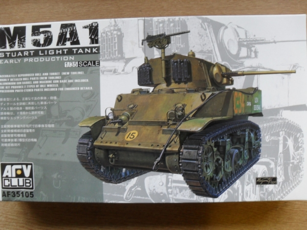 35105 M5A1 STUART EARLY PRODUCTION