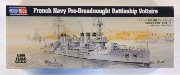 86504 FRENCH NAVY PRE-DREADNOUGHT BATTLESHIP VOLTAIRE