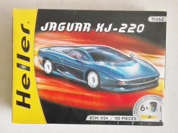 Heller 1 24 71262 Jaguar Xj 220 Gift Set Model Kit