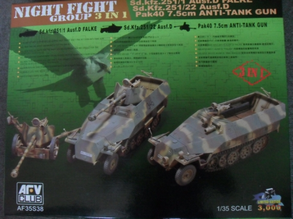 35S38 NIGHT FIGHT GROUP Sd.Kfz 251/1 Sd.Kfz 251/22 PAK40
