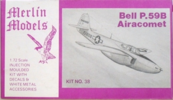38 BELL P-59B AIRACOMET