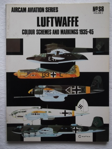 S8. LUFTWAFFE COLOUR SCHEMES 1935-45 VOLUME 2
