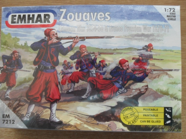 7212 ZOUAVES CRIMEAN WAR/FRANCO PRUSSIAN WAR