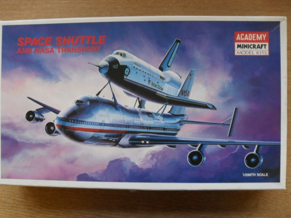 1640 SPACE SHUTTLE/747 1/288
