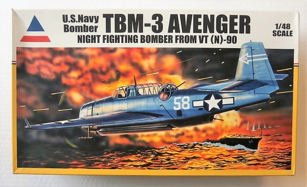 480121 TBM-3 AVENGER NIGHT FIGHTING BOMBER VT N -90