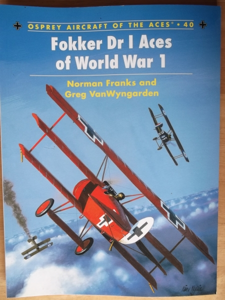 040. FOKKER Dr I ACES OF WORLD WAR 1