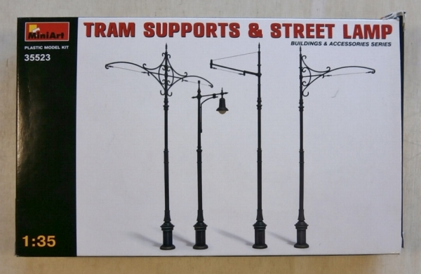35523 TRAM SUPPORTS   STREET LAMP