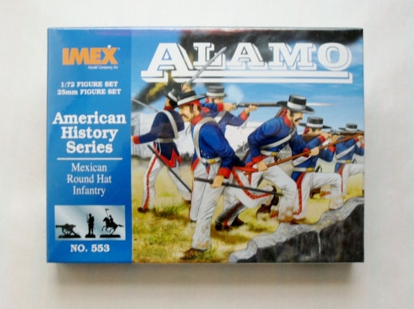 553 MEXICAN ROUND HAT INFANTRY