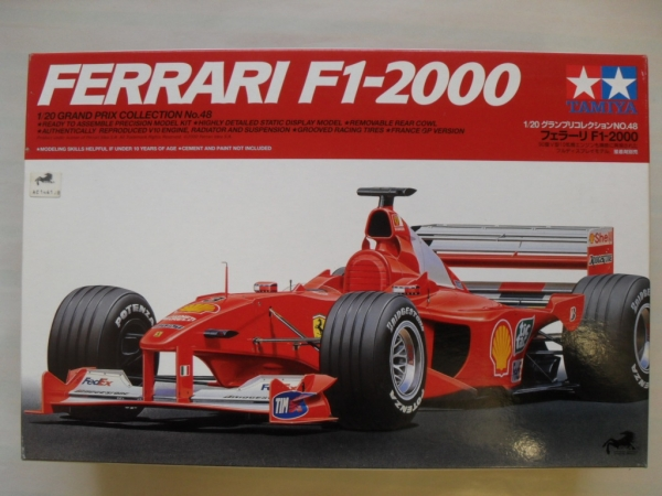 20049 FERRARI F1-2000 FULL VIEW