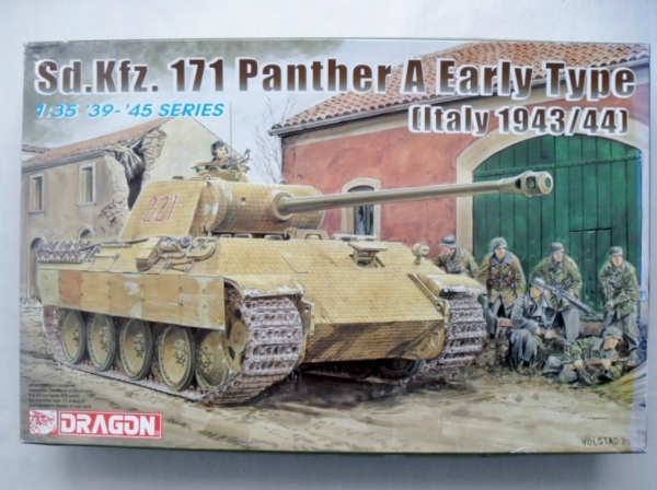 6160 Sd.Kfz. 171 PANTHER A EARLY TYPE ITALY 1943