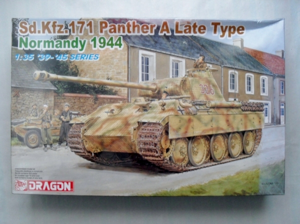 6168 Sd.Kfz 171 PANTHER A LATE TYPE NORMANDY 1944
