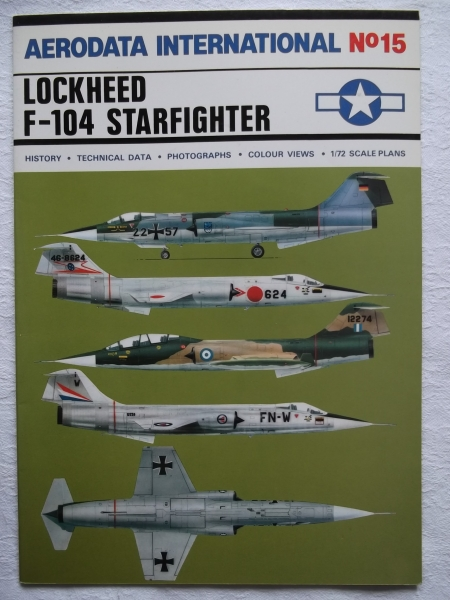 15. LOCKHEED F-104 STARFIGHTER