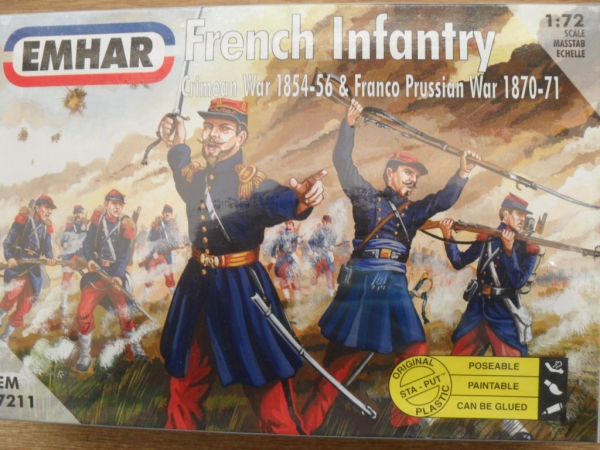 7211 FRENCH INFANTRY 1854-71