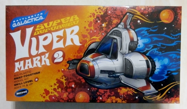 944 BATTLESTAR GALACTICA SUPER DEFORMED VIPER MARK 2