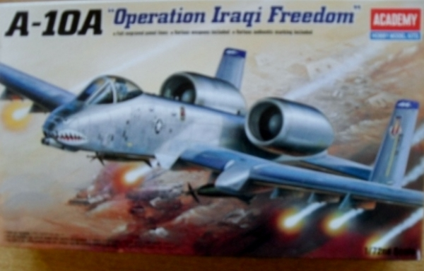 12402 A-10A OPERATION IRAQI FREEDOM