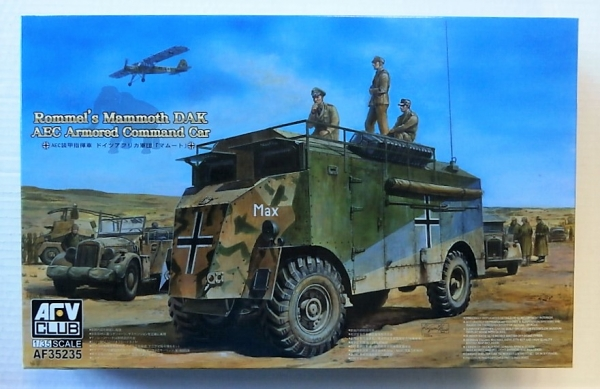 35235 ROMMELS MAMMOTH DAK AEC ARMOURED COMMAND CAR