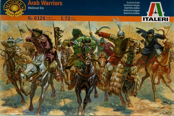 6126 MEDIEVAL ARAB WARRIORS