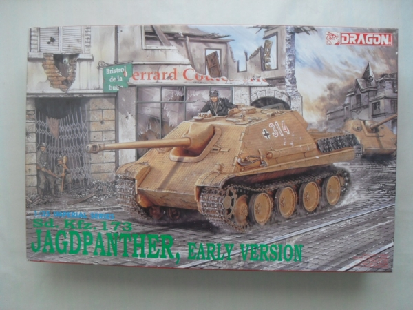 9012 Sd.Kfz 173 JAGDPANTHER EARLY