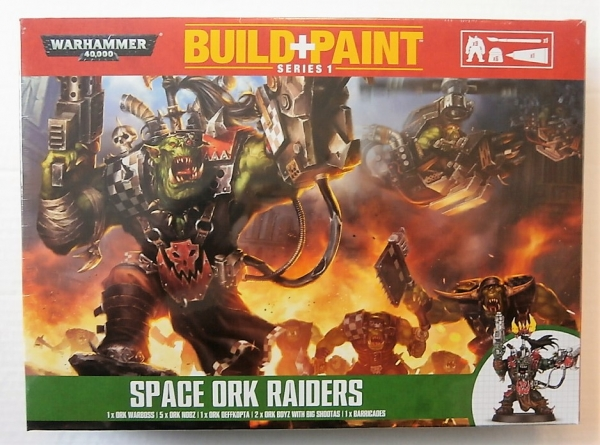 SPACE ORK RAIDERS BUILD   PAINT
