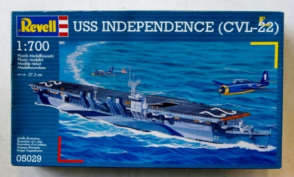 05029 USS INDEPENDENCE CVL-22