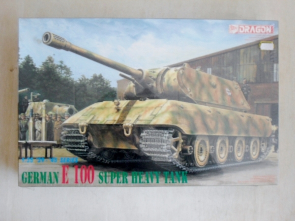 6011 GERMAN E100 SUPER HEAVY TANK