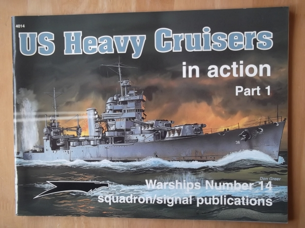 4014. US HEAVY CRUISERS PART 1