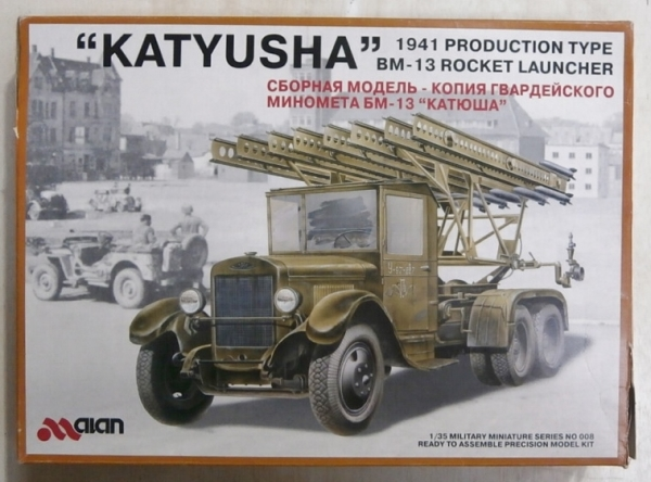 008 BM-13 KATYUSHA 1941 PRODUCTION TYPE