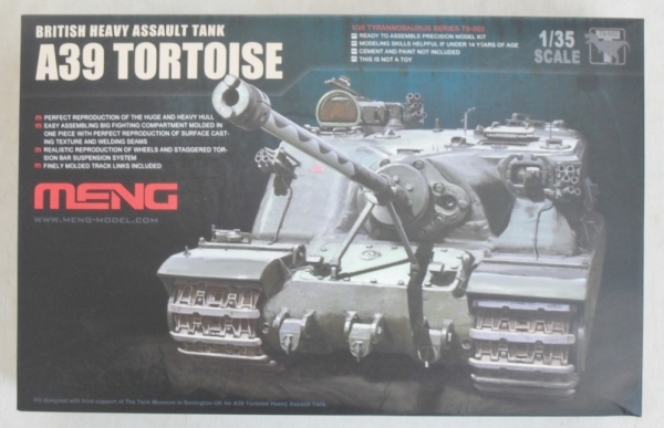 TS-002 A39 TORTOISE BRITISH HEAVY ASSAULT TANK