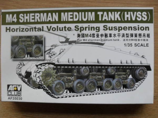 35030 M4 SHERMAN HVSS UNIT