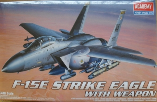 2117 F-15E STRIKE EAGLE WITH WEAPON