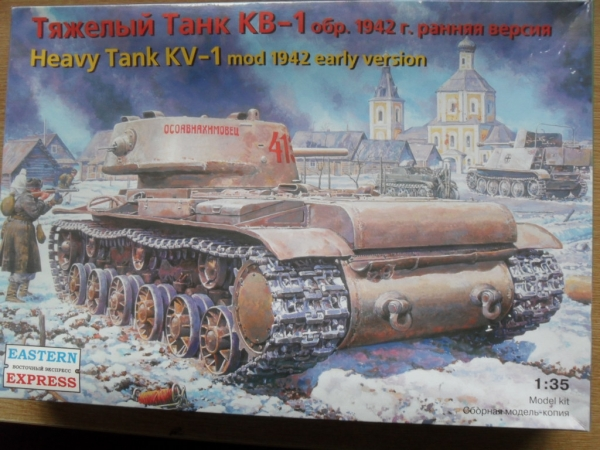 35120 KV-1 Mod.1942 EARLY VERSION