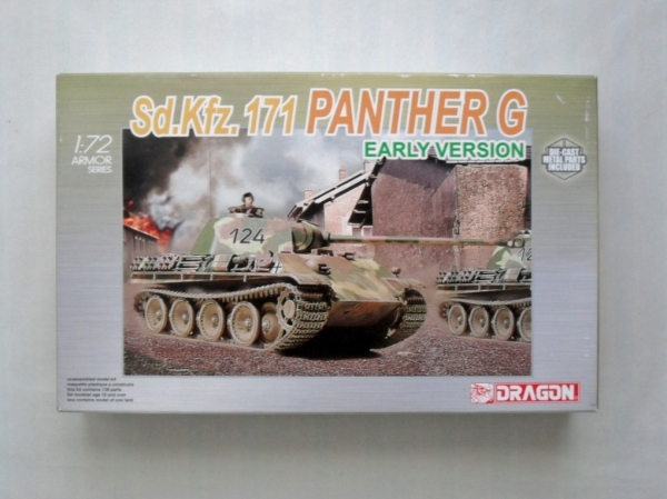 7205 Sd.Kfz.171 PANTHER G EARLY VERSION
