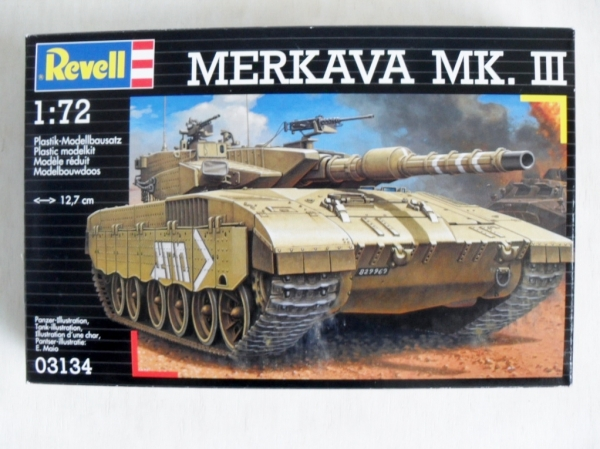 Plastikbausatz 1:72 Merkava MK.III Revell 03134