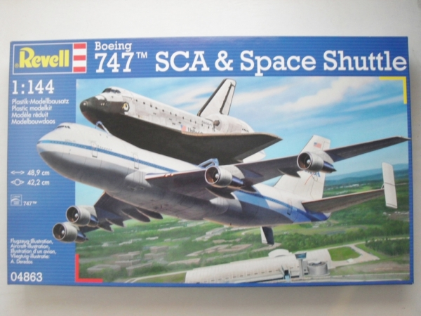04863 SPACE SHUTTLE   BOEING 747