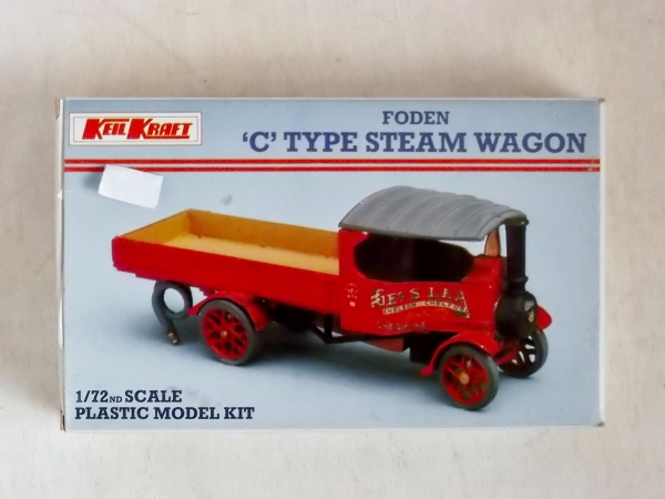 K303 FODEN C TYPE STEAM WAGON