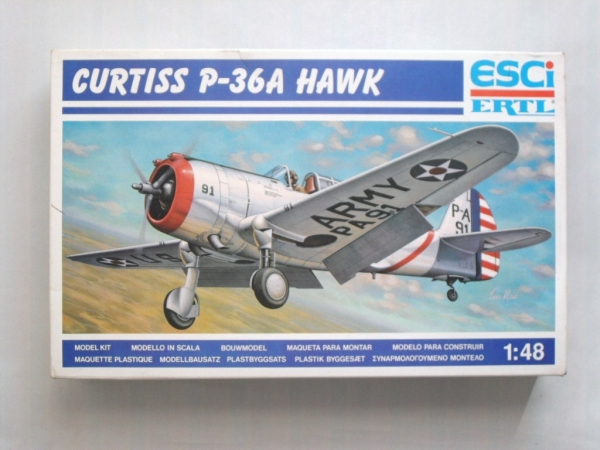 4101 CURTISS P-36A HAWK